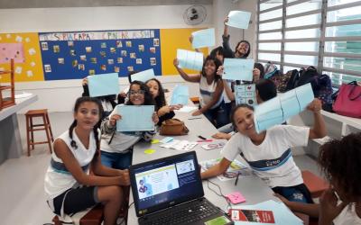 """Nossa escola parceira está comprometida com o projeto """"Herois contra Dengue""""!"""