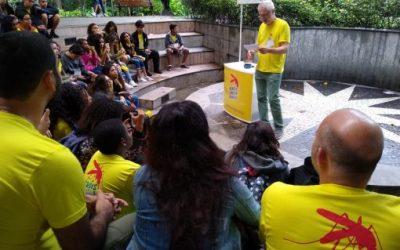Exkursion: das Dankeschön an die Heróis Contra Dengue