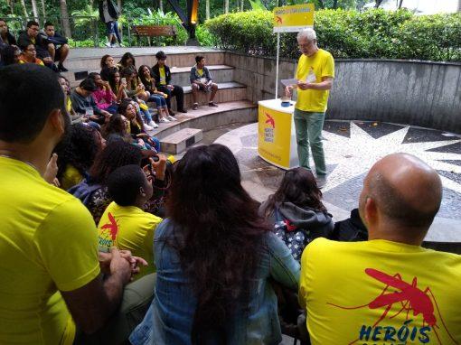 Excursão: o agradecimento aos Heróis Contra a Dengue